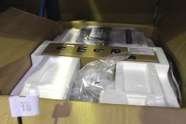 An APC Smart UPS 750VA, LCD, 2U, 230V + NIC, model SMT750RM2UNC - New in box, box tatty (ES2)
