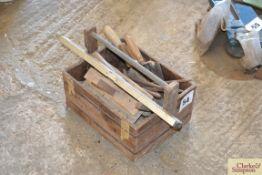 Quantity of builders tools.