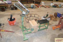 Bowman clay pigeon trap.