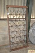 Wooden bed frame. NO VAT.