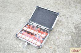 12 piece Tungsten router set.*