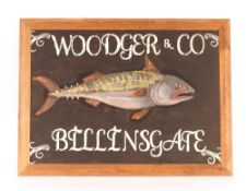 Wodger & Co. Billingsgate painted advertising pict