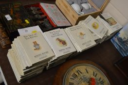 A large collection of Beatrix Potter Nursery Rhyme