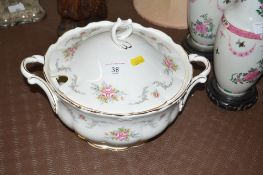 "A Royal Albert ""Tranquillity"" tureen with lid"