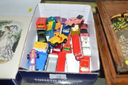 A tray of die-cast model vehicles to include Match