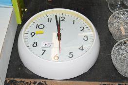 A modern Smith's wall clock