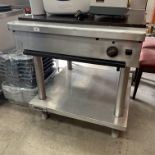 Zanussi gas powered hot plate on stainle