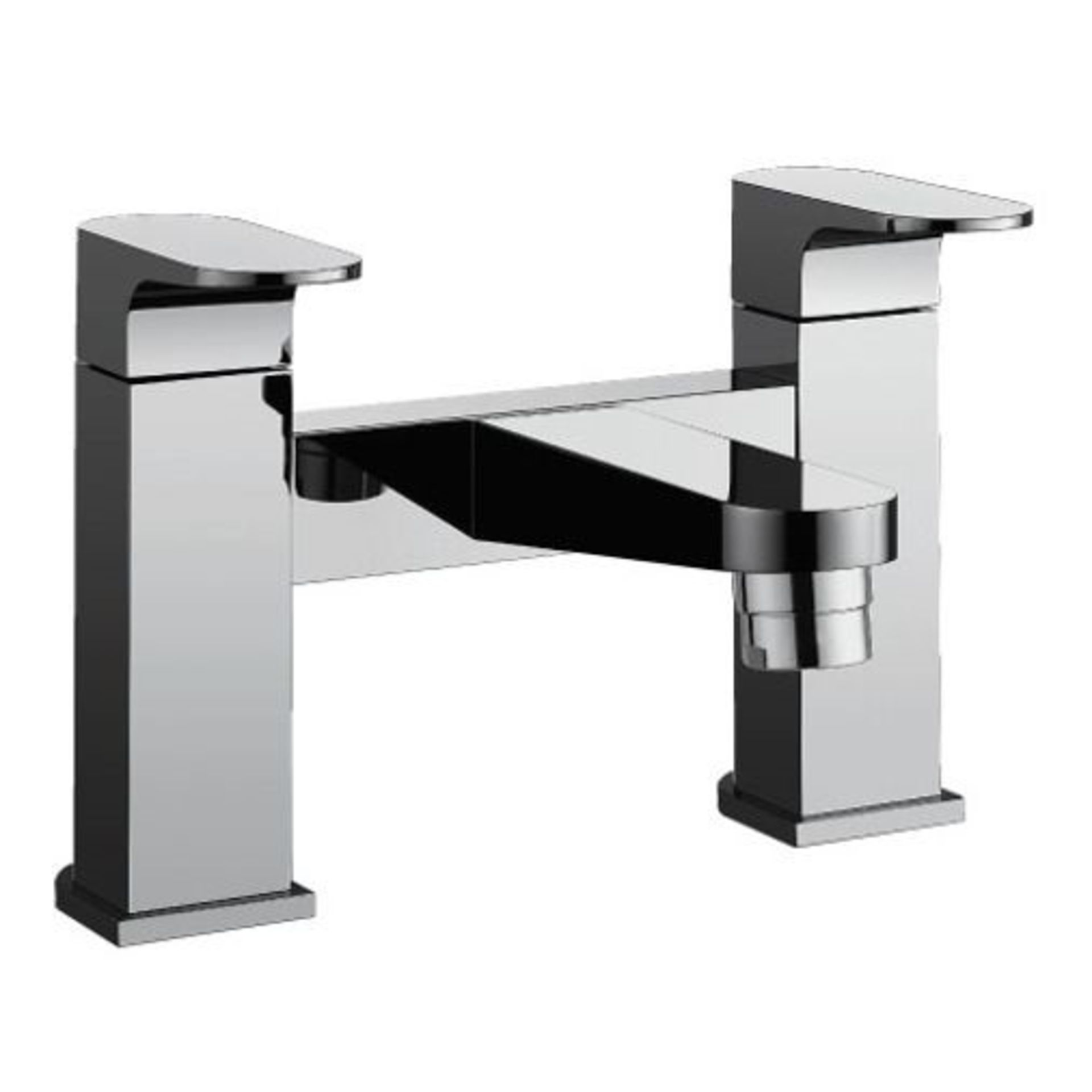 Lot 11 - Bathstore 'Track' very high quality, designer bath mixer tap.