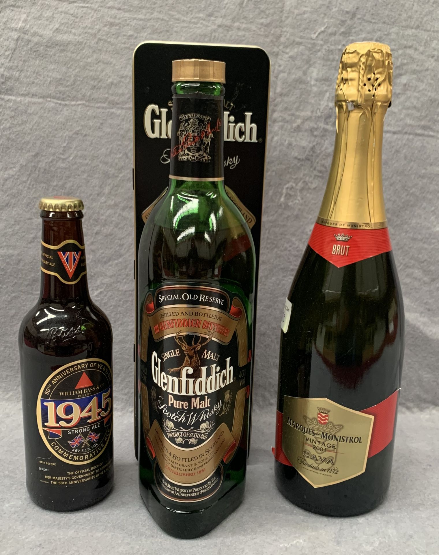 Lot 1E - A 70cl bottle of Glenfiddich Special Old Reserve Single Pure Malt Scotch Whisk