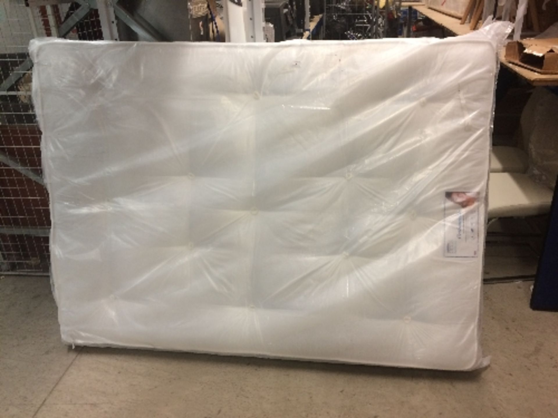 Lot 8 - Ortho Open Coil Mattress 4'6""