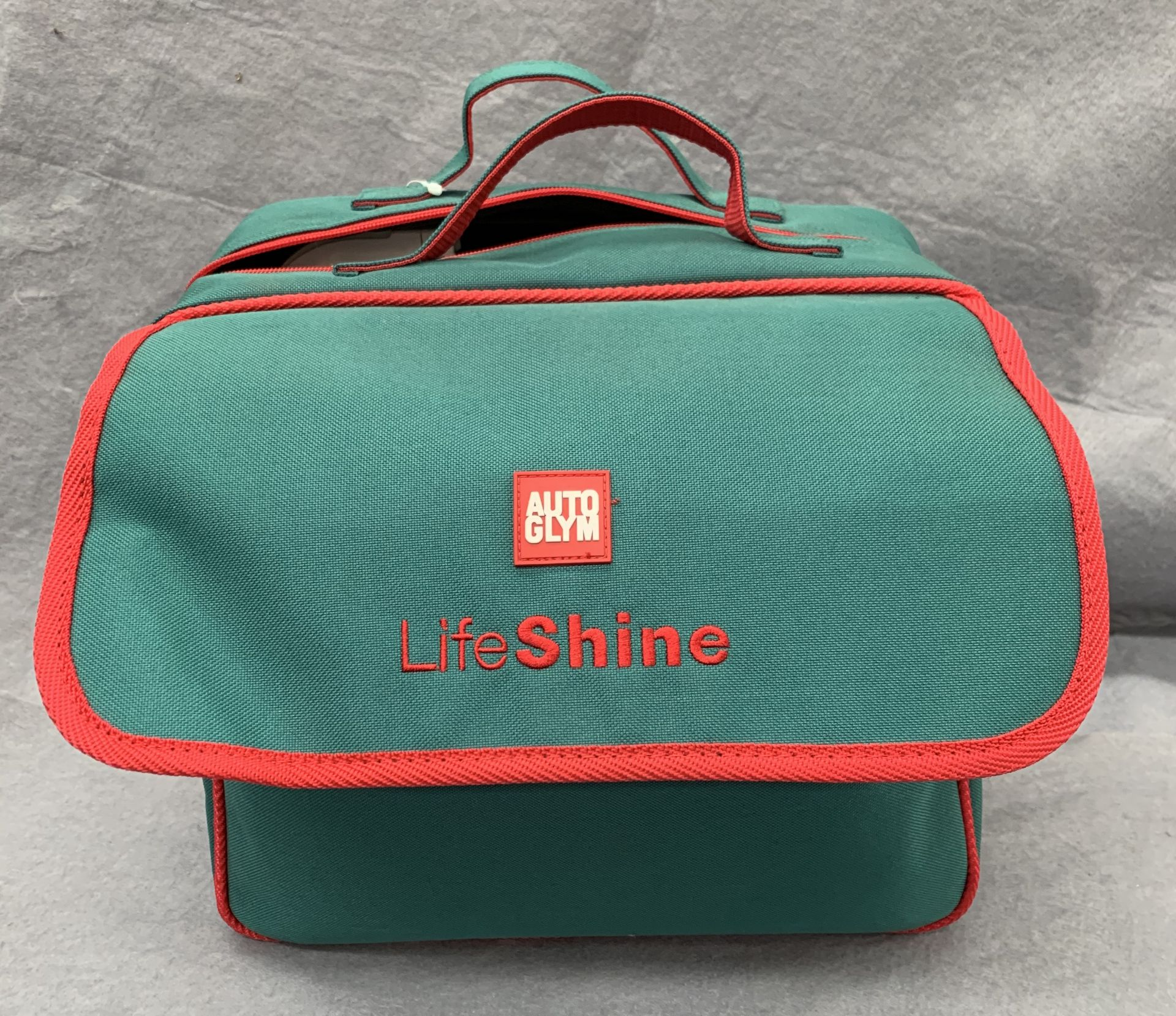 Lot 11 - An Autoglym Life Shine car protection kit in carrying case