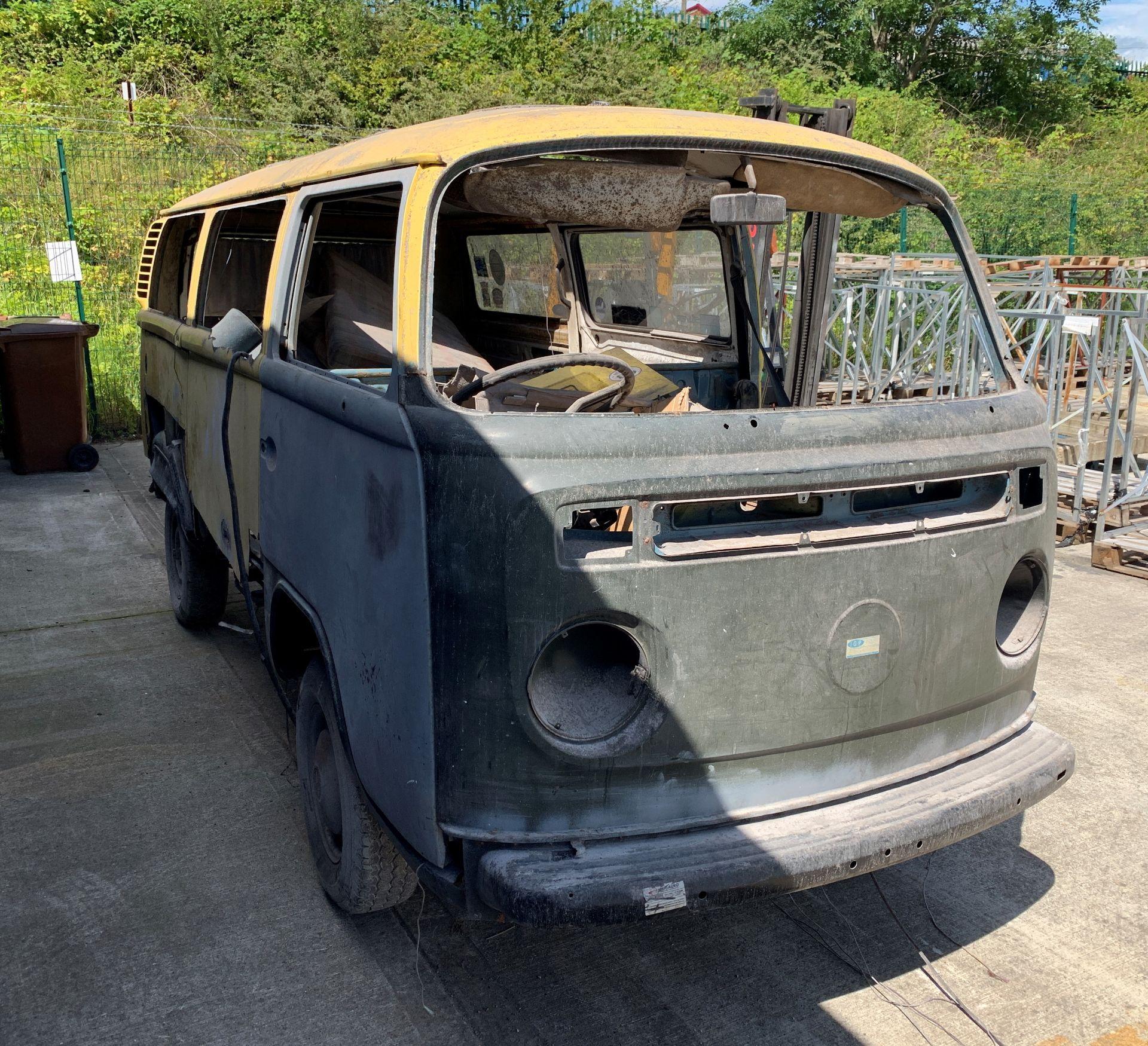 Lot 7 - RESTORATION PROJECT: VW MOTOR CARAVAN 1584cc CONVERSION (ORIGINALLY REGISTERED AS A VW DELIVERY