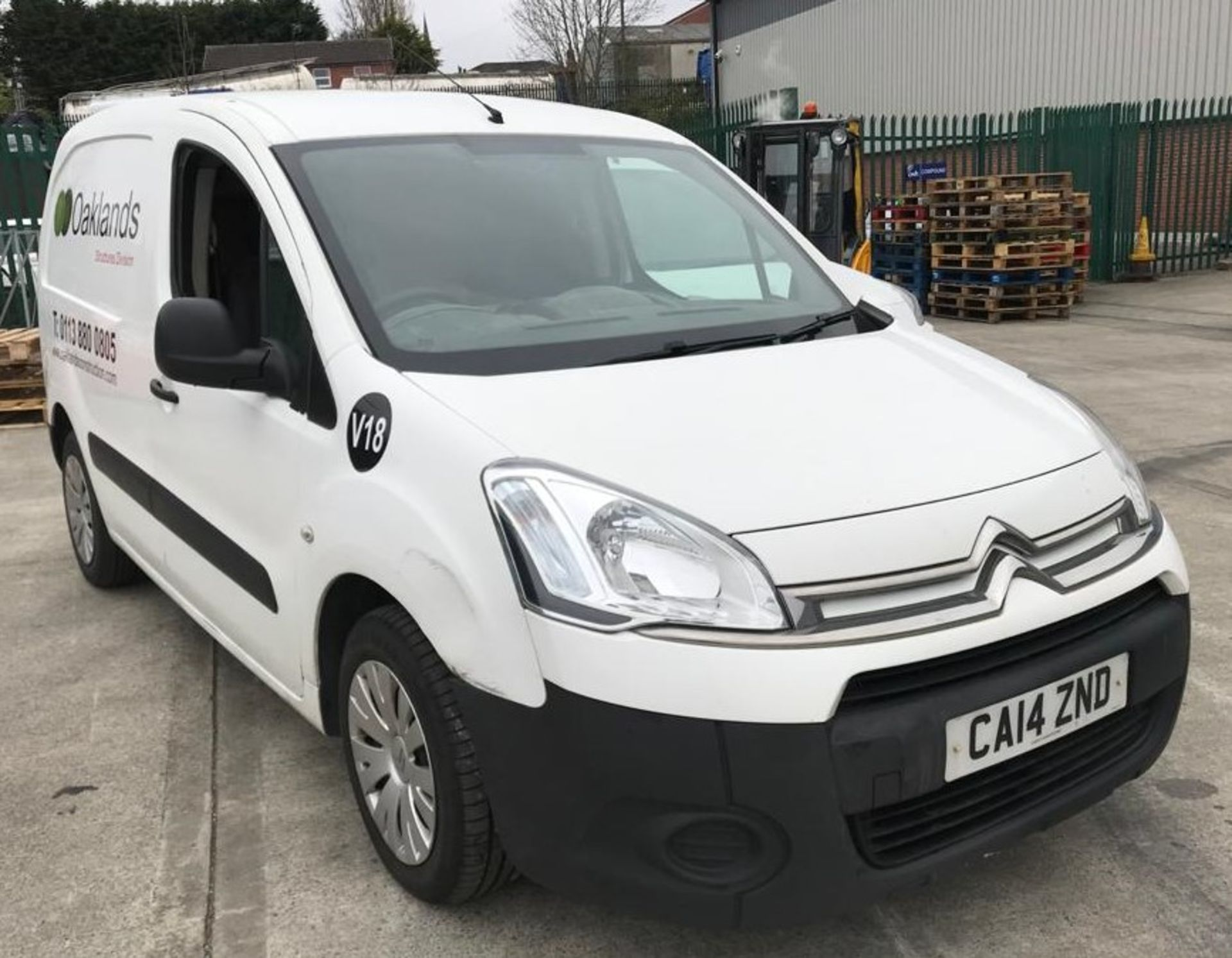 Lot 13 - CITROEN BERLINGO 625 LX 1.