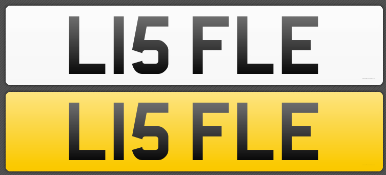 CHERISHED REGISTRATION NUMBER L15 FLE to be assigned by 01.06.