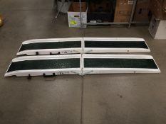 Two Jet Marine fibreglass portable ramps SWL 240kg each 180cm long