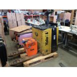A Yale MP20X stand behind pedestrian forklift truck YOM 2010 CAP 2000kg S/N C843T01751H complete