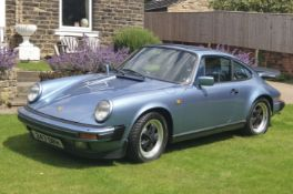 PORSCHE 911 CARRERA 3.2 (3164cc) COUPE - manual - petrol - blue.