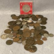 A collection of Victorian and other coins,