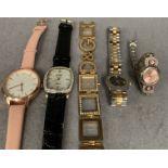 Five assorted ladies watches by Dolce & Gabbana, Citizen,
