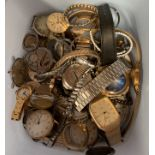 Wrist and pocket watches by Sekonda, etc.