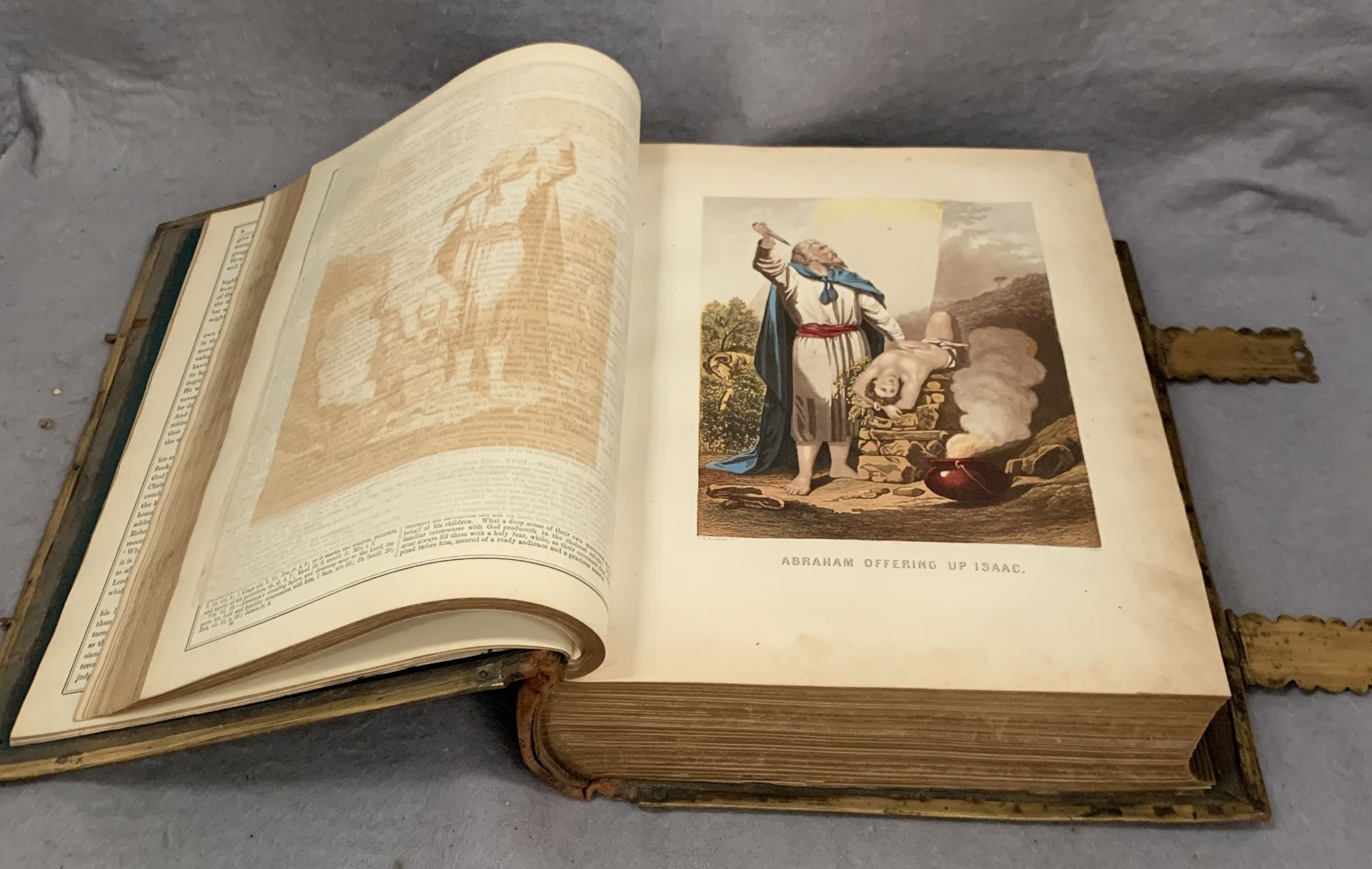 Lot 521 - Brown's Self-Interpreting Family Bible published by Adam & Co (Ltd),