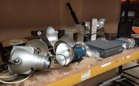 Contents to bay - Courtenay Photonics Ltd colorflash light, Strand Electric theatre light,