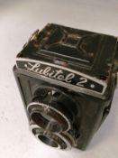 Lubitel 2 camera with 4.5/7.