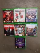 7 X MIXED XBOX ONE GAMES TO INC FAR CRY