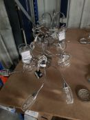 5 X MIXED DECORATIVE CEILING LIGHTS