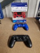 3 X PS4 DUALSHOCK 4 WIRELESS CONTROLLER