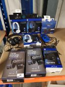 9 ITEMS – TO INC PS4 TWIN DOCKING STATIO