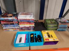 TO INC APPROX 14 X MIXED DVDS, 18 X MIXE