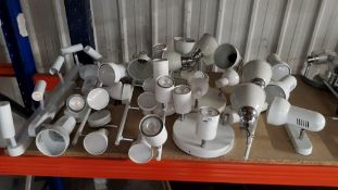 APPROX 15 X MIXED CEILING / WALL LIGHTS