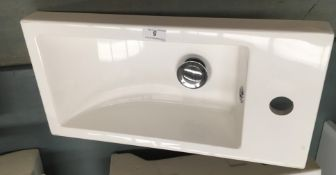 490 x 250 polymarble sink and waste