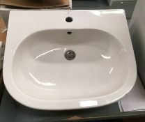 600 x 500 ceramic sink and waster
