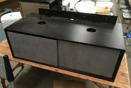 1200 x 550 wall hung two drawer vanity unit