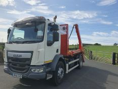 On instructions from a retained client DAF FA LF 220 SKIP LOADER (6700cc) - Diesel -