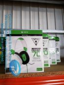 4 X TURTLE BEACH XBOX ONE RECON 70 EAR F
