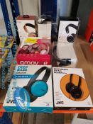 7 ITEMS – MIXED HEADSETS TO INC MIXX AUD