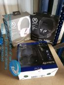 3 ITEMS – 2 X POWER A GAMING HEADSETS &