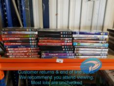 31 X MIXED KIDS DVDS TO INC STAR WARS TH