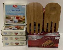 11 x assorted items - 4 x Tala pinch pot