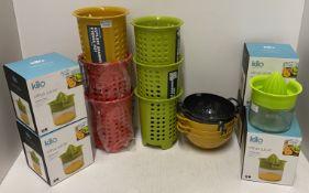 18 x assorted items - Kilo Citrus Juicer