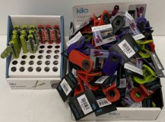 73 x assorted Kilo magnetic bag clips an