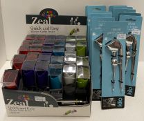 39 x assorted items - Zeal Quick and Eas