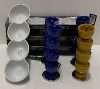 12 x assorted items - egg cup displays a
