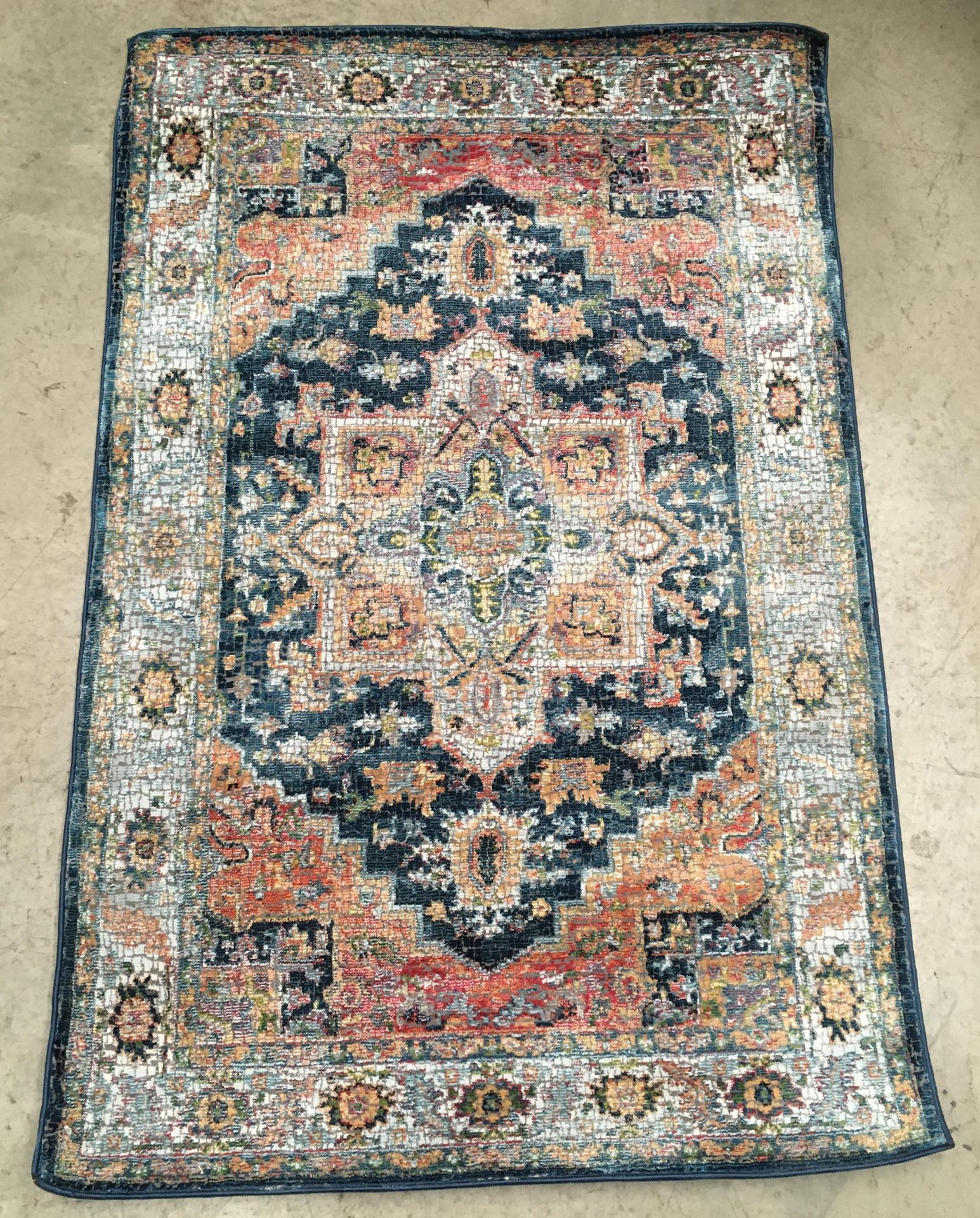Lot 16 - A Ankaea Global Collection ANR11 multicoloured rug - 120cm x 180cm