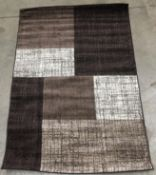A Paco Home Mondial 105 brown rug - 160cm x 230cm