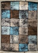 A Paco Home Metro 155 brown rug - 160cm x 220cm