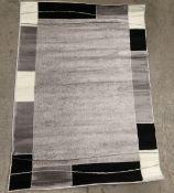 A Paco Home Sinai 054 grey rug - 120cm x 170cm